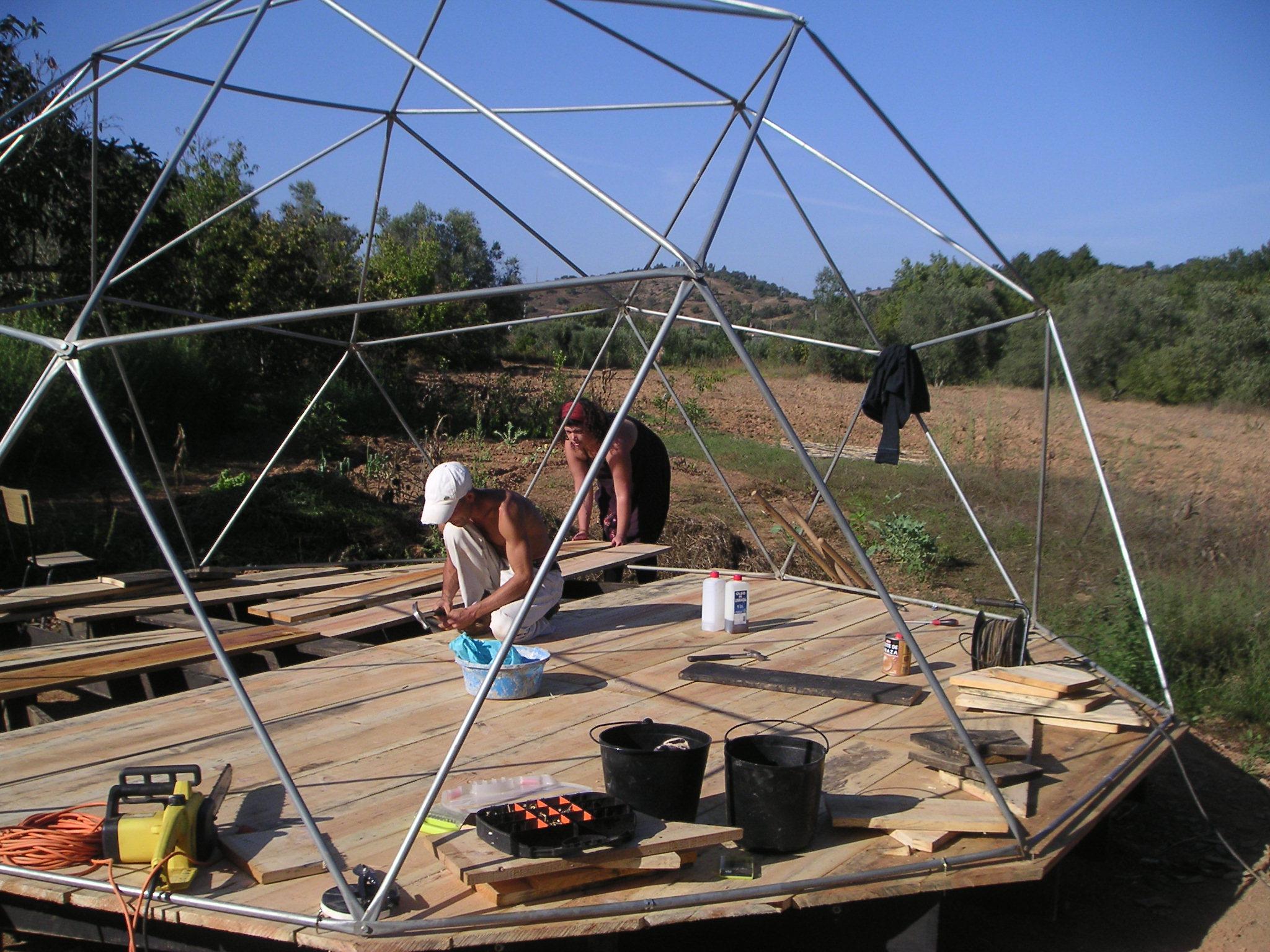 Garden Dome Deck Oshosgardens Blog